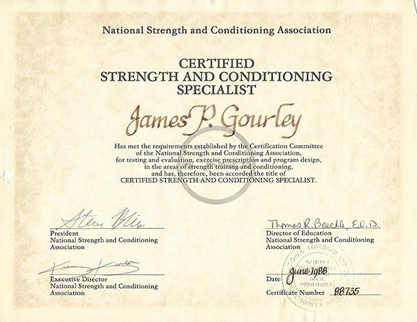 CSCS Certification