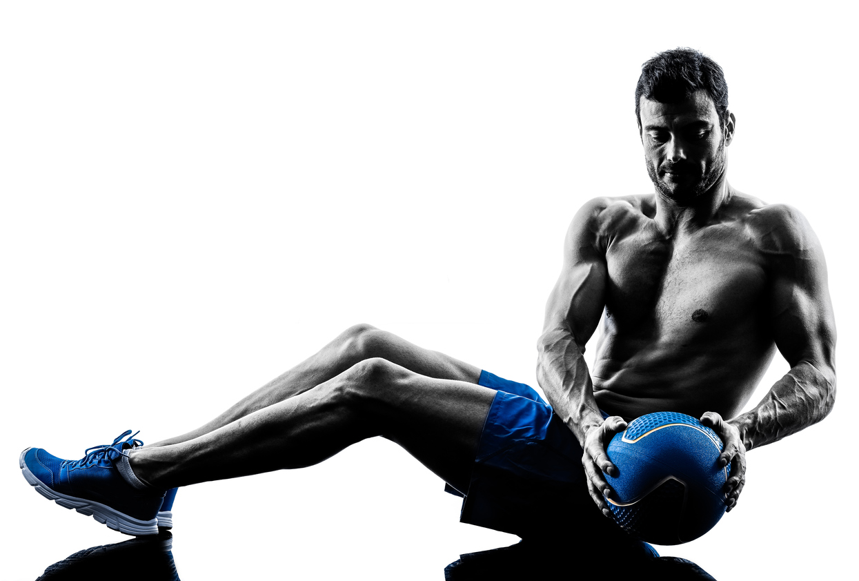 BACK BREAKER OF THE MONTH: SEATED RUSSIAN TWISTS